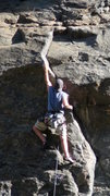 Rock Climbing Photo: Clear Creek Canyon, River Wall, Muddy Waters... Fi...