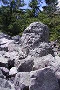 Rock Climbing Photo: Headstone.