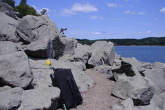 Rock Climbing Photo: This is when you know your in the 500ft. Boulder F...