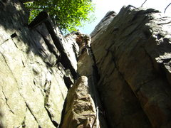 Rock Climbing Photo: Gabe loving the Throne.
