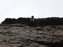 Rock Climbing Photo: Up at Dogwood