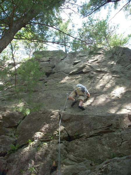 """Rock Climbing Photo: Thune on """"Curse of the Drill""""."""