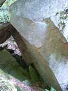 Rock Climbing Photo: Hidden boulder in talus field south of the main cl...