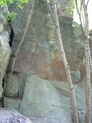 Rock Climbing Photo: SW face of PWB Block. Climbed yet?
