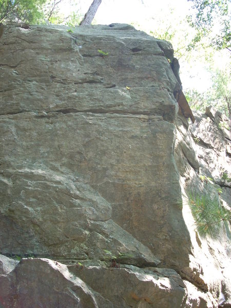 Rock Climbing Photo: There is one bolt on this face to the west of &quo...