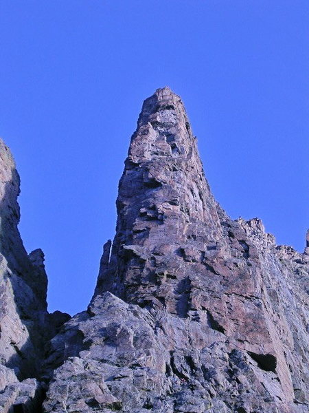 Rock Climbing Photo: The Saber/ RMNP