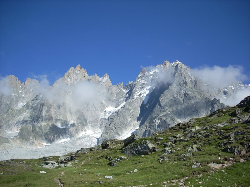 Rock Climbing Photo: hiking in Chamonix