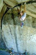 Rock Climbing Photo: Tom Callahan, 1983  photo by bob gaines