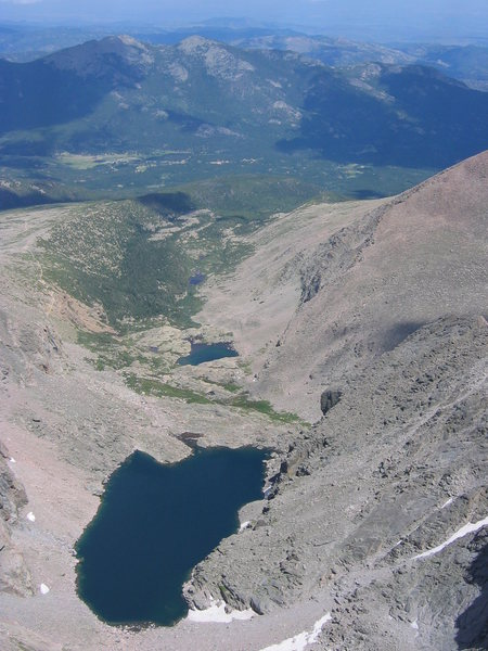 Chasm Lake.