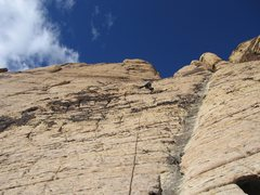 Rock Climbing Photo: Just another RR B-shot...Playing around on an unkn...