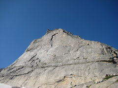 Rock Climbing Photo: There it is! After the long ass 6 mile hike in, th...