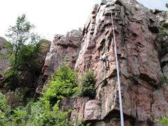Rock Climbing Photo: Acute Corner