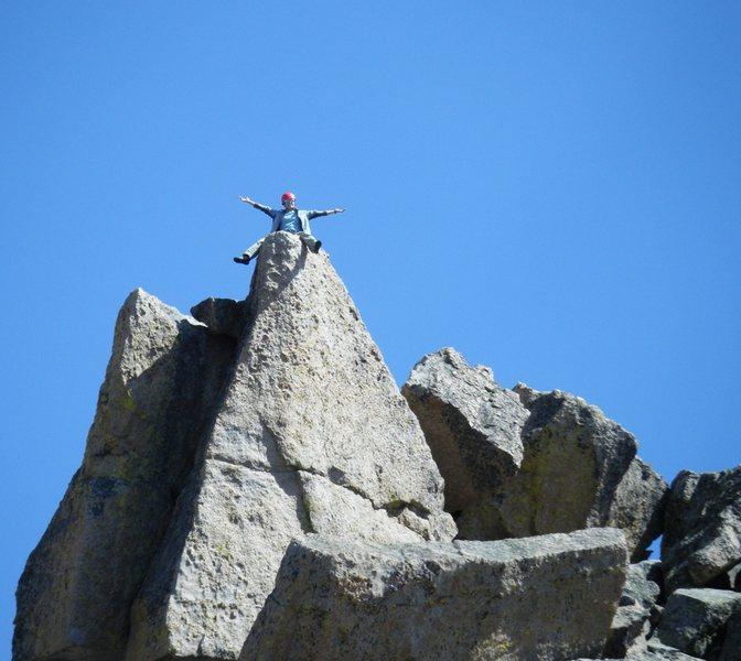 On the Spearhead summit block