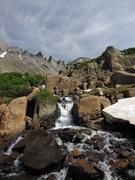 Rock Climbing Photo: Entering Glacier Gorge.
