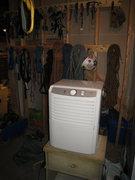 Rock Climbing Photo: The dehumidifier in my basement to create 'sending...