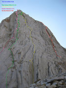 Rock Climbing Photo: This is a bit of a work in progress. I'd love to g...