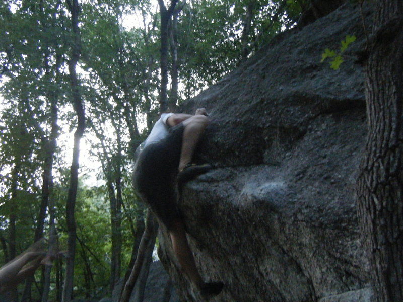 Rock Climbing Photo: Ian that close to sending! Just a little...more......