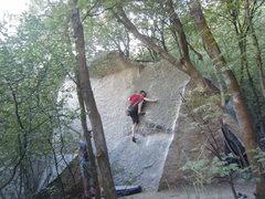 Rock Climbing Photo: Ian on the South Face.