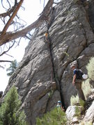 Rock Climbing Photo: Ryan loves Unaweep and the Sun Towers!  (This is t...