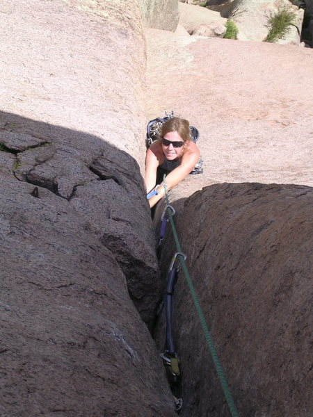 Center Route/ Cynicle Pinnacle - South Platte