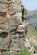 Rock Climbing Photo: Following pitch 4.