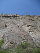 Rock Climbing Photo: Looking up from the base of the Main Wall at Mt. E...