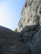 Looking up the first pitch of Zig Zag from the base.