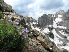 Rock Climbing Photo: Above Hanging Canyon