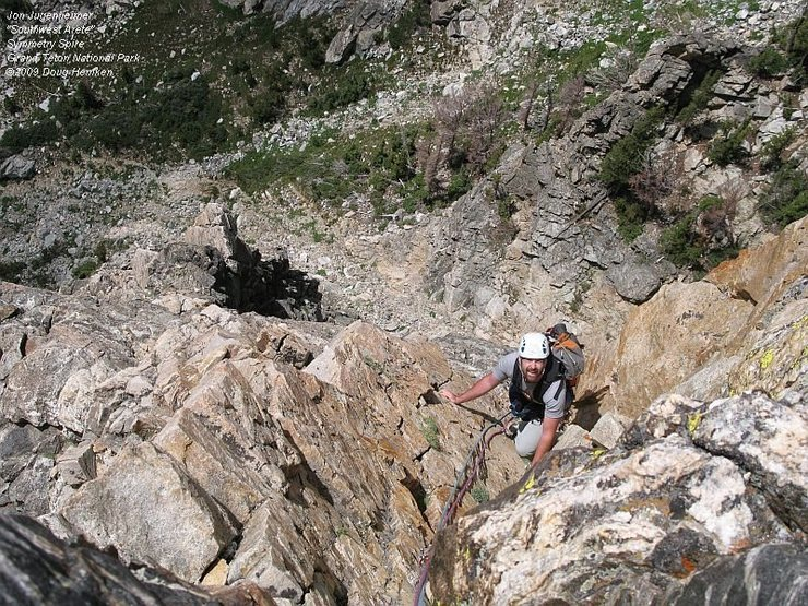 On the last golden granite pitch