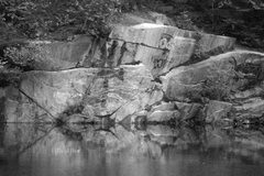 Rock Climbing Photo: The best deep water bouldering wall in the area......
