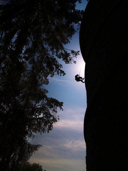 alex, post first ascent