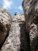 Rock Climbing Photo: View of the top section of Phat Phinger Phrenzy