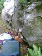 Rock Climbing Photo: Nate Woods on Autobot