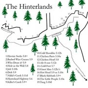 Rock Climbing Photo: The Hinterlands map... Again there are a few left ...
