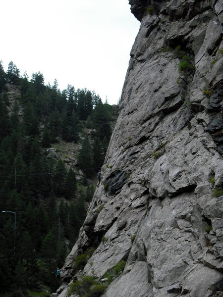 Rock Climbing Photo: Crackside2