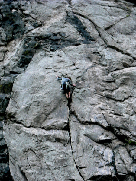 Rock Climbing Photo: Crackside3