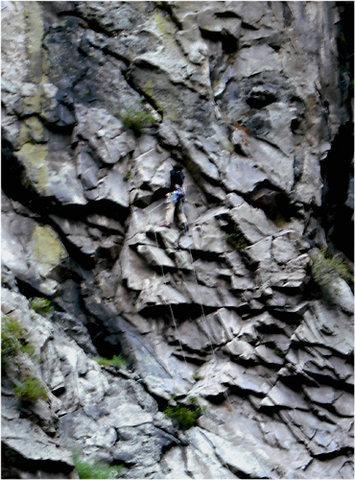 Rock Climbing Photo: CLMemorialRoute3