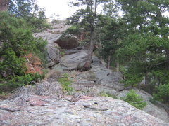 Rock Climbing Photo: The route.  Looks pretty sweet, no?  I stumbled on...