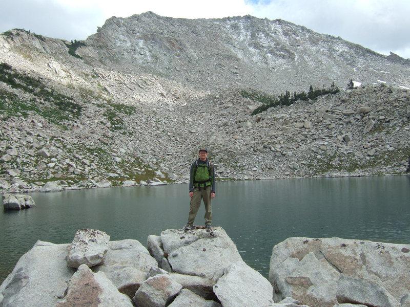 Rock Climbing Photo: Upper Red Pine Lake Pfeifferhorn 8/15/2009