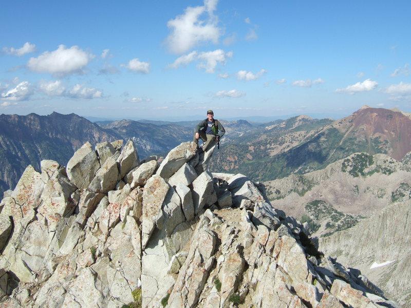 Rock Climbing Photo: Pfeifferhorn 8/15/2009