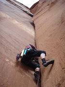 Rock Climbing Photo: Patrick A. leading TFC.
