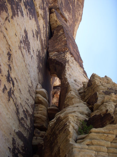 "Rock Climbing Photo: ""The Elephant's Trunk"""
