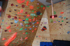Rock Climbing Photo: Home Wall 1