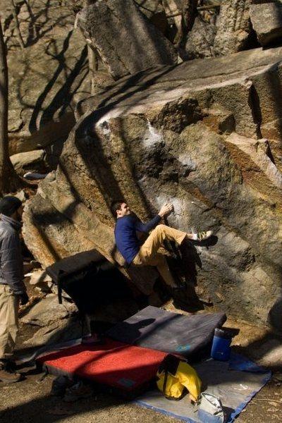 Black Boulder Problem