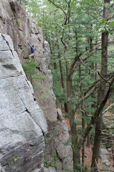 Rock Climbing Photo: (Photo K.Filen)