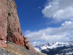Rock Climbing Photo: Highcountry craggin'.