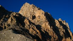 Rock Climbing Photo: Just another photo of the Exum Ridge from the Lowe...