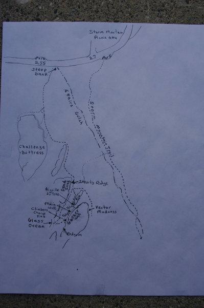 Rock Climbing Photo: Trails to Geezer