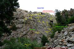 Rock Climbing Photo: Main Slab - Geezer Wall