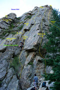 Rock Climbing Photo: Upper Climber's Choice Wall